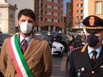 Roberto Gravina e comandante vigili urbani Luigi Greco Campobasso