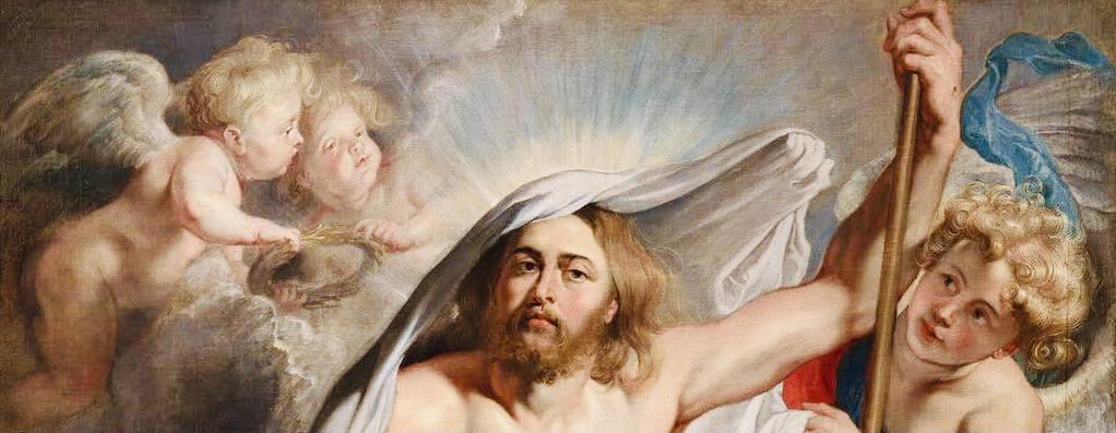 rubens  resurrezione gesù pasqua