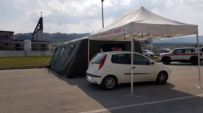 screening drive-through montenero