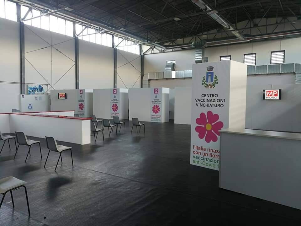 centro vaccinale covid Vinchiaturo
