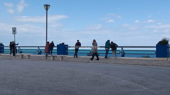 Piazza sant'antonio termoli vista mare