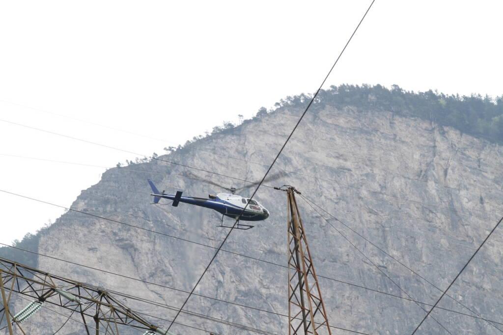 terna ispezione rete elettrica aereo