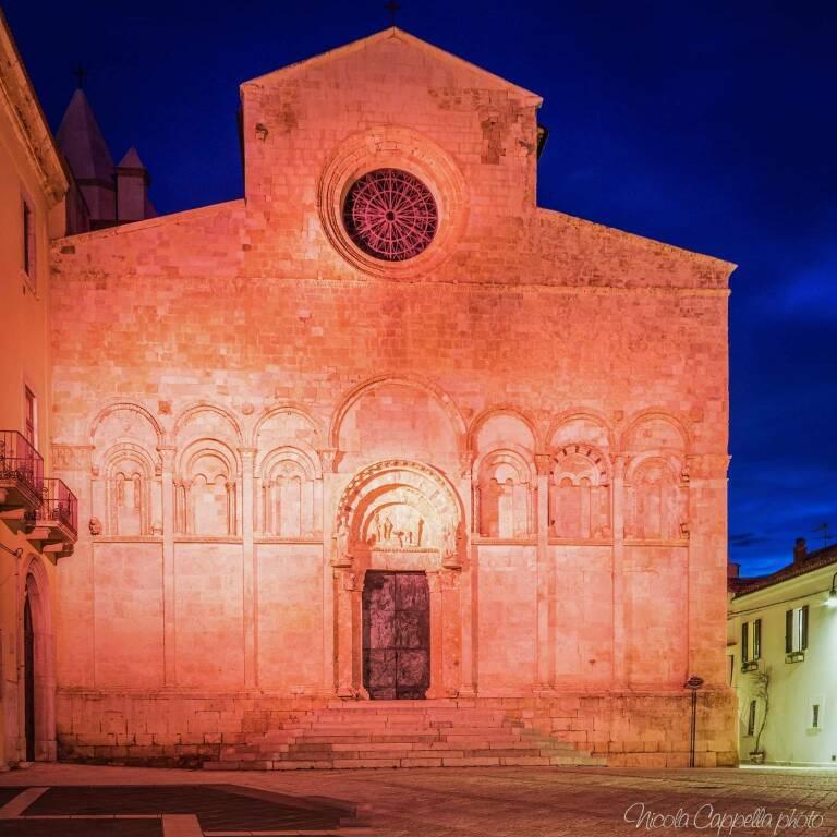 Cattedrale di Termoli rosa