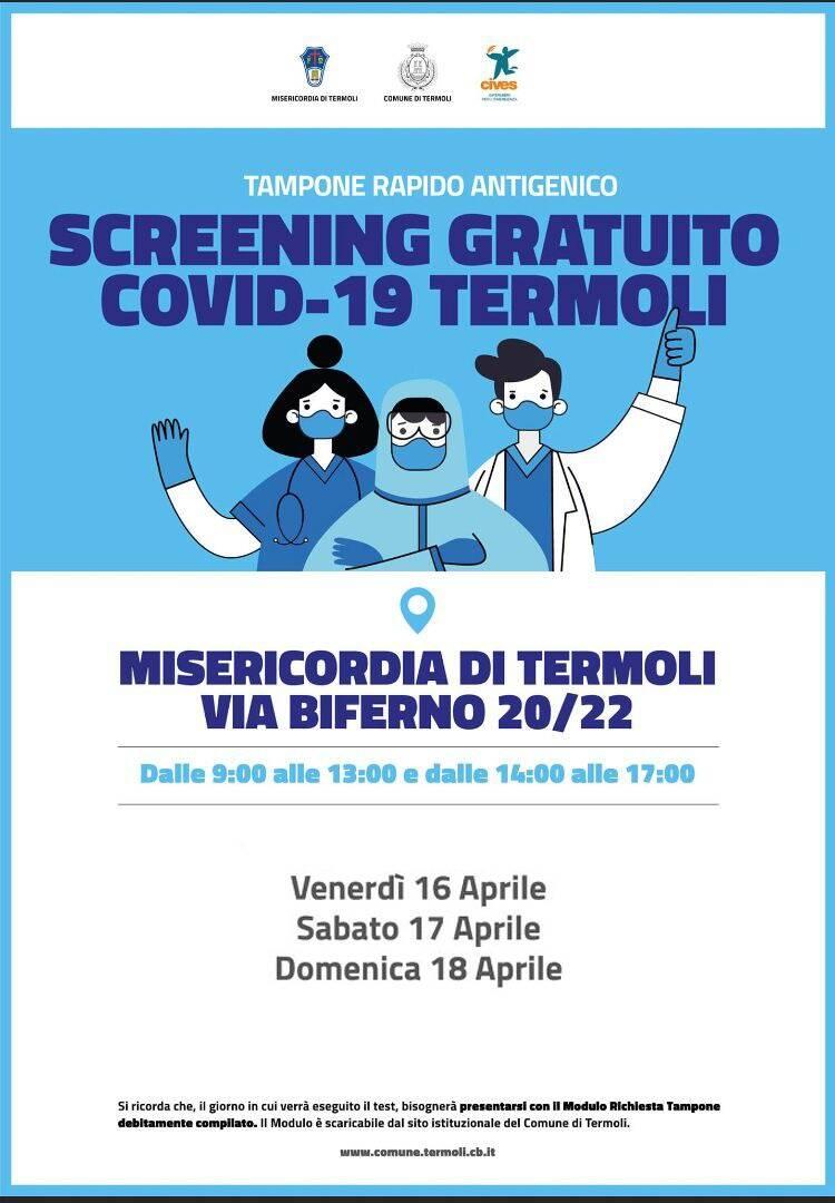 screening 16 18 aprile termoli