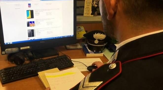 carabinieri Forli truffa computer