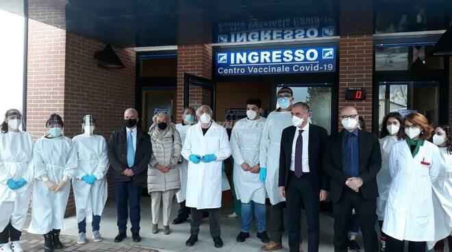 Visita Sottosegretario Costa a Campobasso presidente Toma