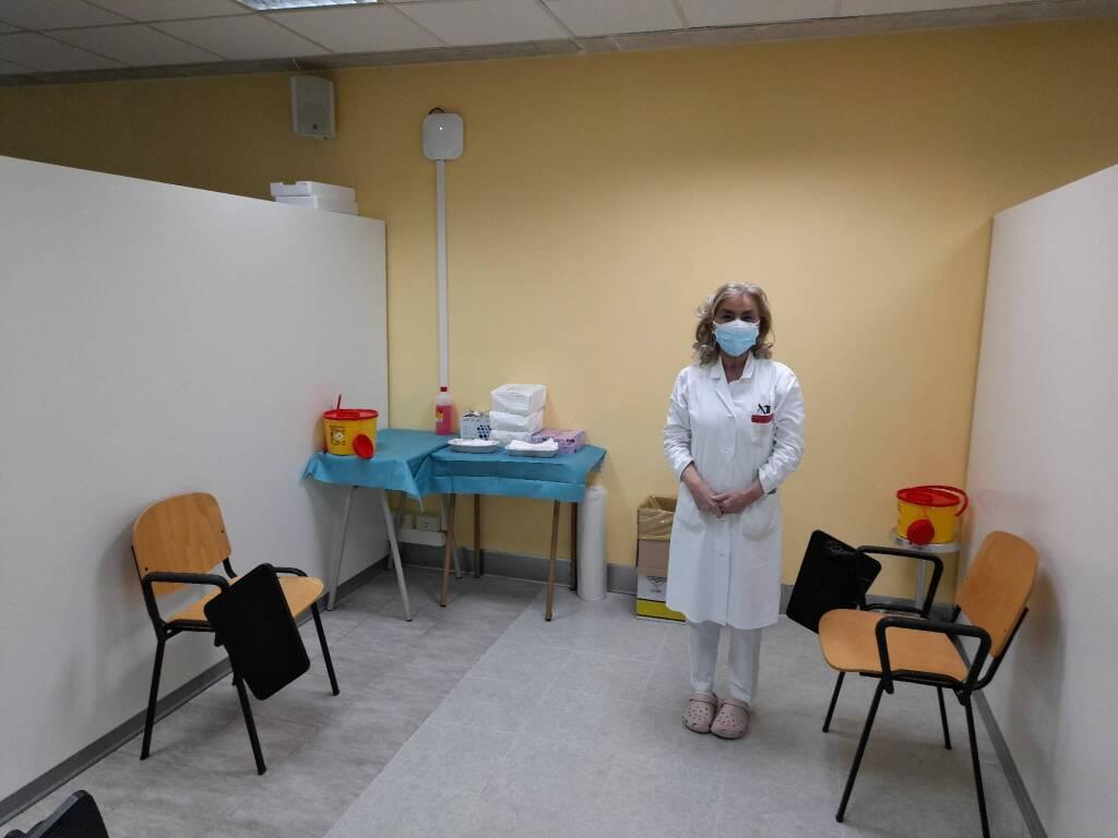 Nuovo centro vaccinale all'ospedale Cardarelli Campobasso vaccini covid