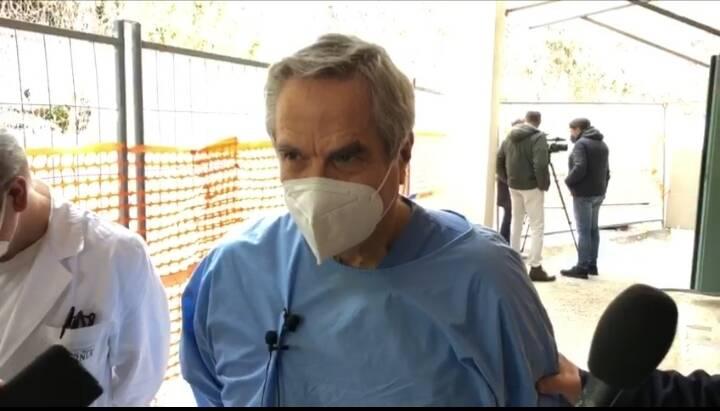 Lucio Pastore primario pronto soccorso ospedale Veneziale di Isernia