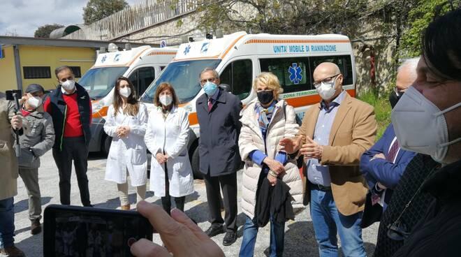 Toma commissario Degrassi ospedale Veneziale di Isernia moduli terapia intensiva covid conferenza stampa