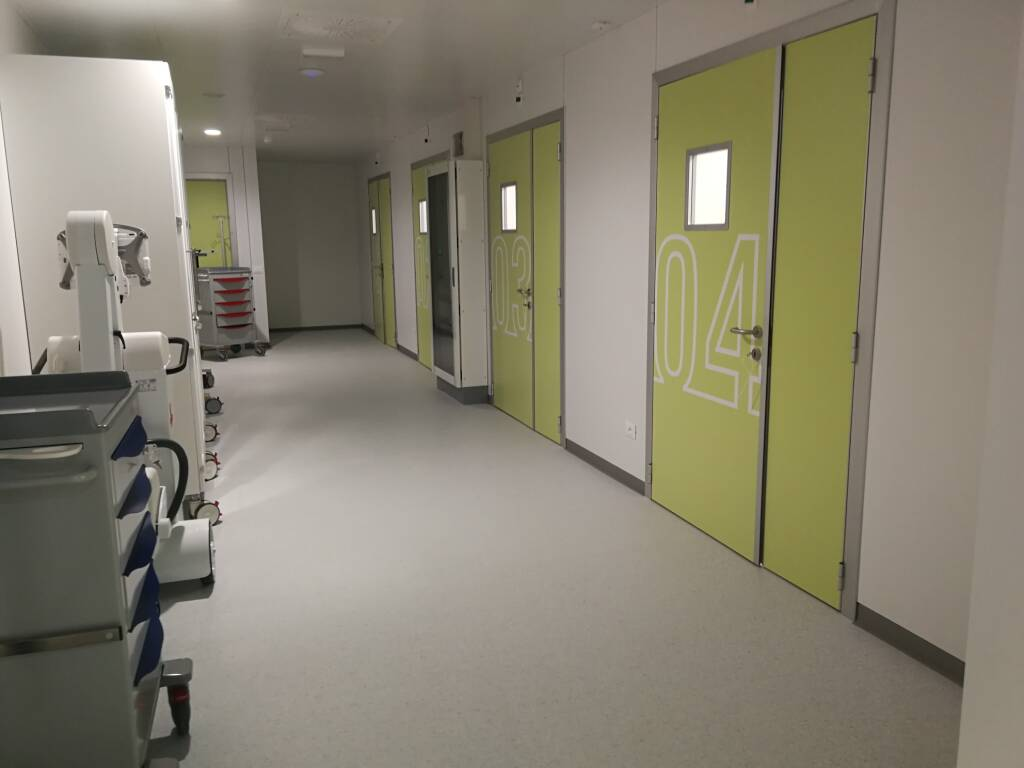 ospedale Veneziale di Isernia moduli terapia intensiva covid