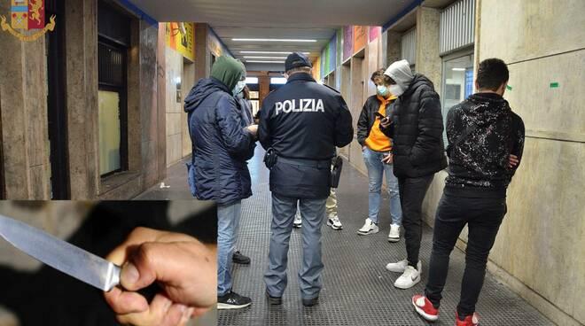 lite vecchio stadio Romagnoli giovani polizia Campobasso