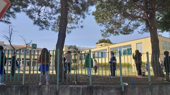studenti scuola elementare aperto via stati uniti