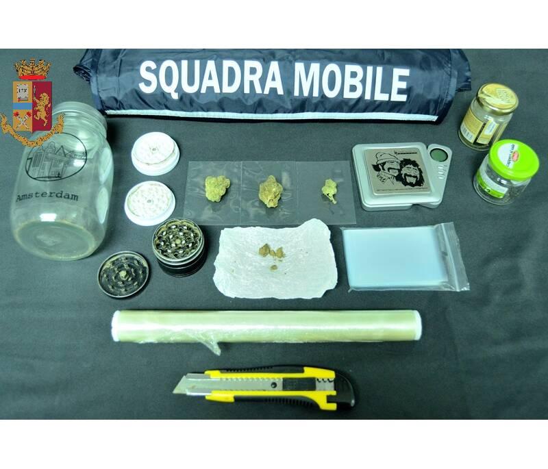 squadra mobile droga campobasso