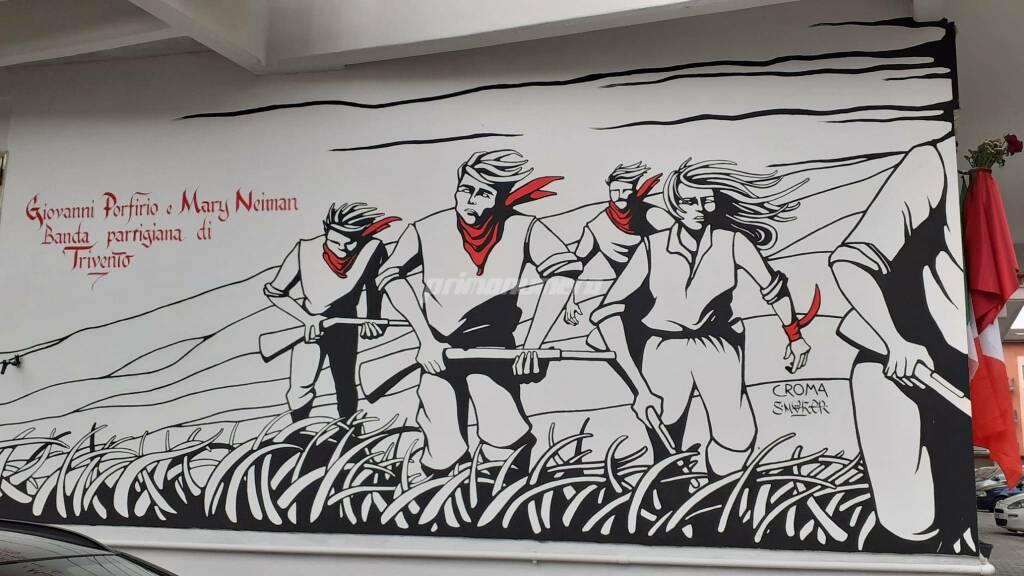 Murales via Martiri della Resistenza Campobasso