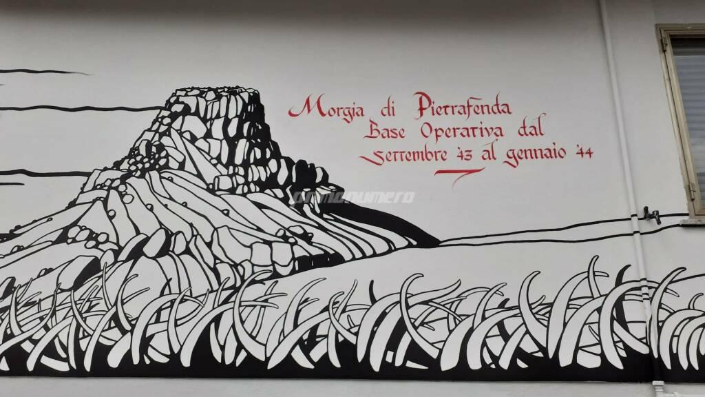 Murale via Martiri della Resistenza Campobasso
