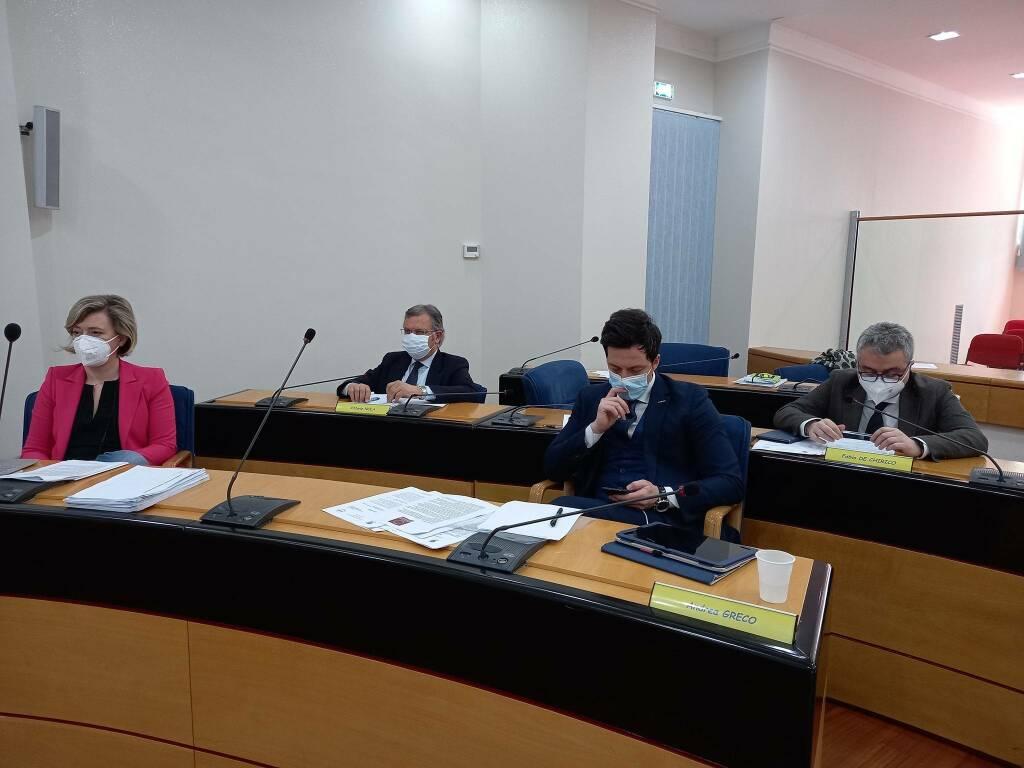 M5S Consiglio regionale sessione bilancio 28.04