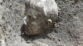 testa Augusto scavi isernia soprintendenza scoperta archeologica