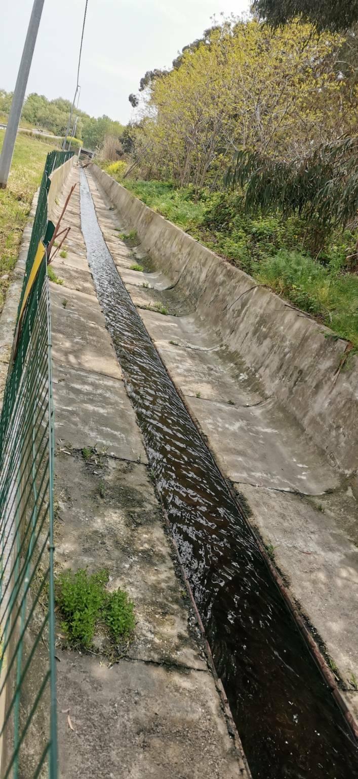 Il depuratore di Montenero di Bisaccia in contrada Padula