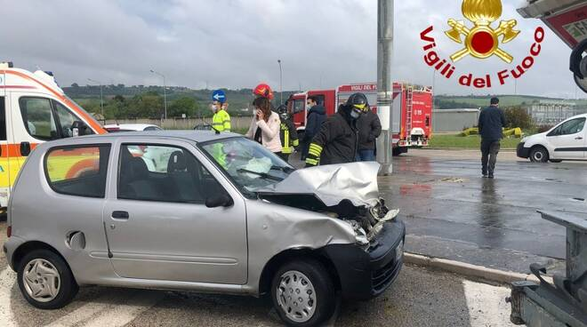 incidente zona industriale termoli