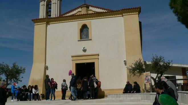 madonna a llunghe Viandante chiesa termoli
