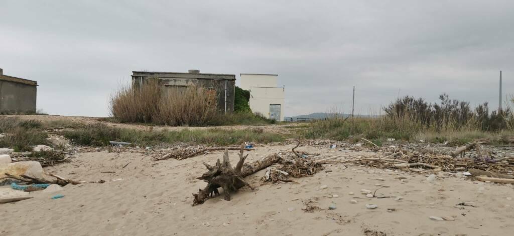 South Beach marina Montenero idrovora spiaggia