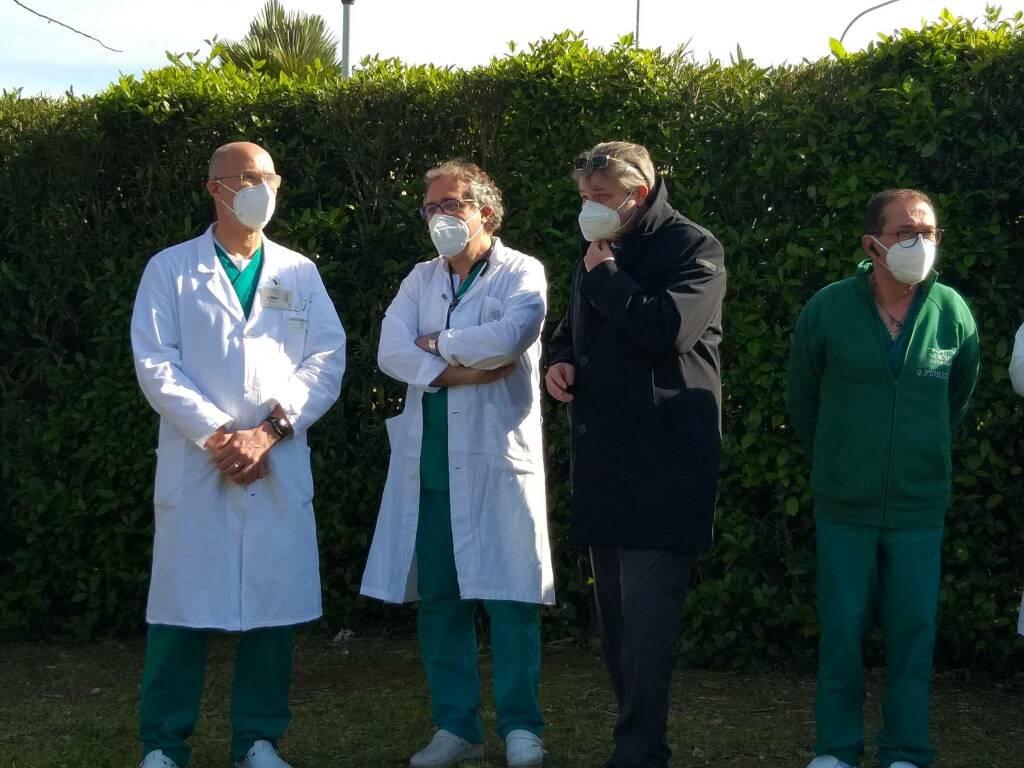 Terapie Intensive Termoli Toma Roberti Tomaselli inaugurazione ospedale