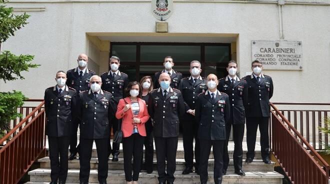 carabinieri isernia e prefetto