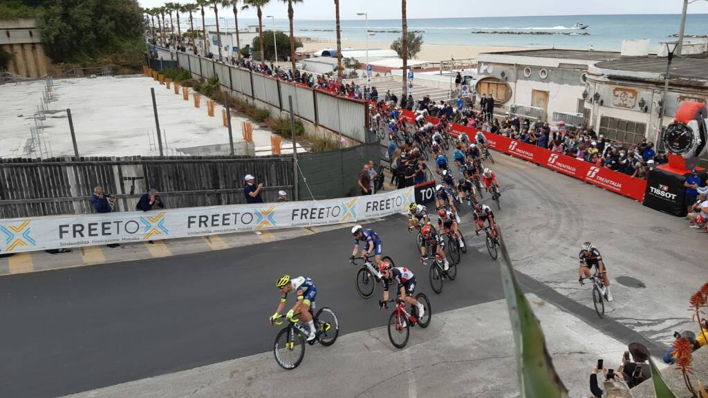 Ciclisti a Termoli