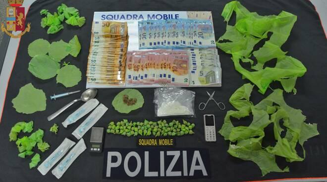 droga mobile polizia