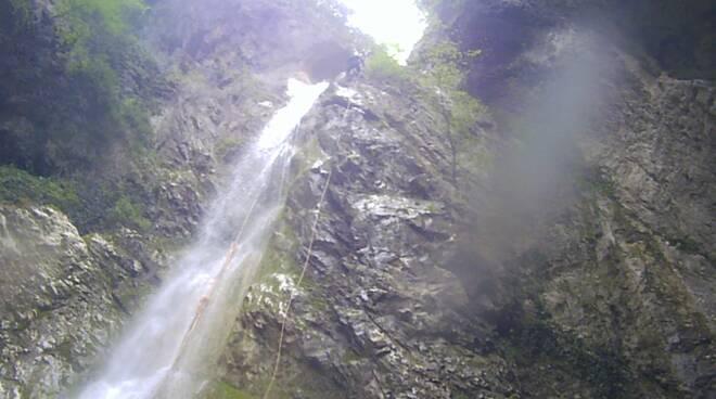 escursionisti salvati gole quirino cascate