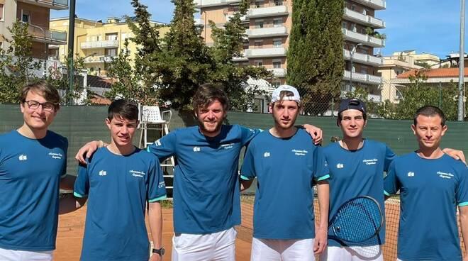 Tennis la formazione dell'At Campobasso
