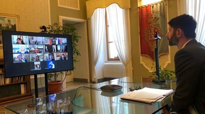 Cerimonia finale Capitale Italiana del Libro 2021 Gravina
