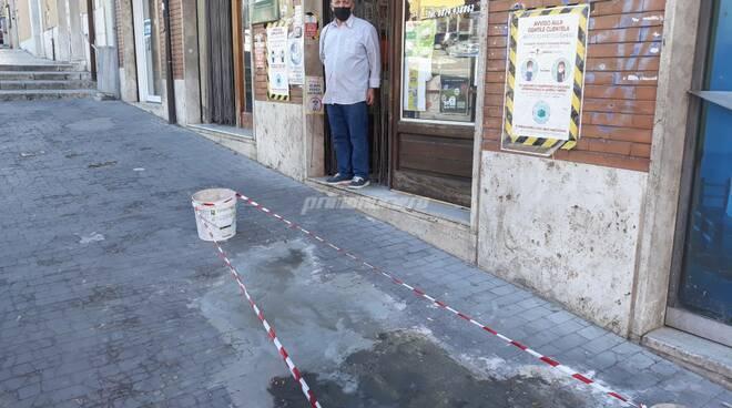 Domenico Campana titolare alimentare via Monforte Campobasso