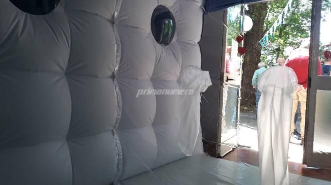 Campobasso casa di riposo Pistilli via delle Frasche stanza degli abbracci