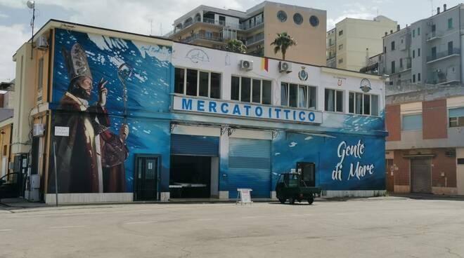 murale mercato ittico porto termoli