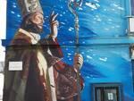 san basso murale mercato ittico