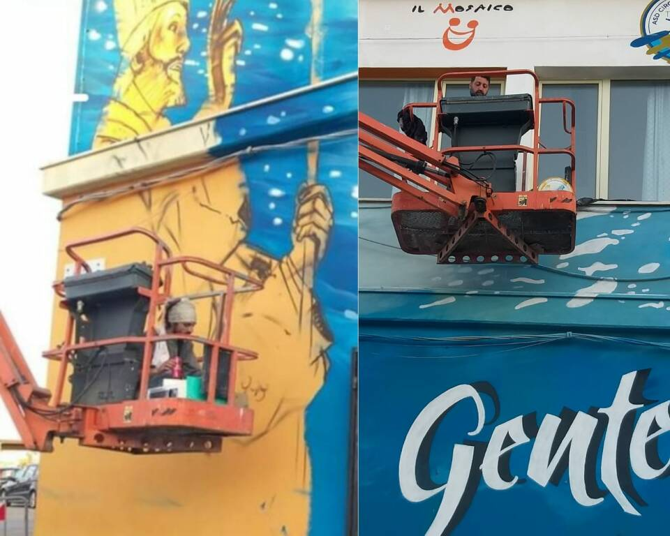 murale mercato ittico writers