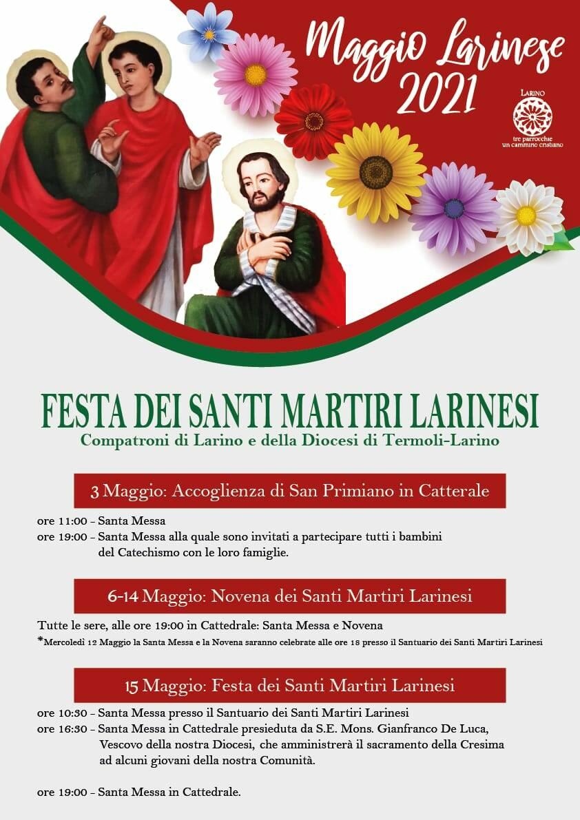 festa santi martiri larinesi