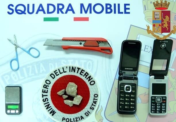 squadra mobile padre e figlio arrestati eroina Campobasso