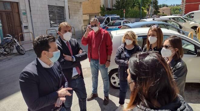 Greco e Primiani con i precari della sanità Regione Molise M5S