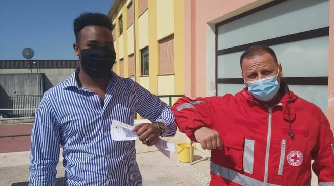 volontario somalo croce rossa isernia