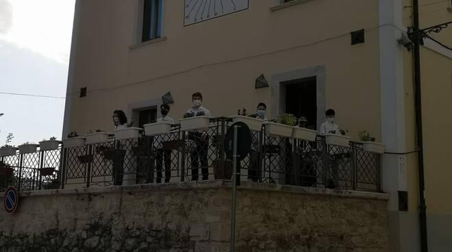 studenti scuola Magliano di Larino