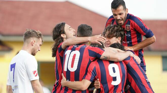 Esultanza Campobasso Calcio