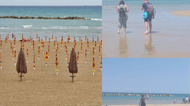 spiaggia collage