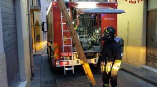 Incendio via Roma Guglionesi