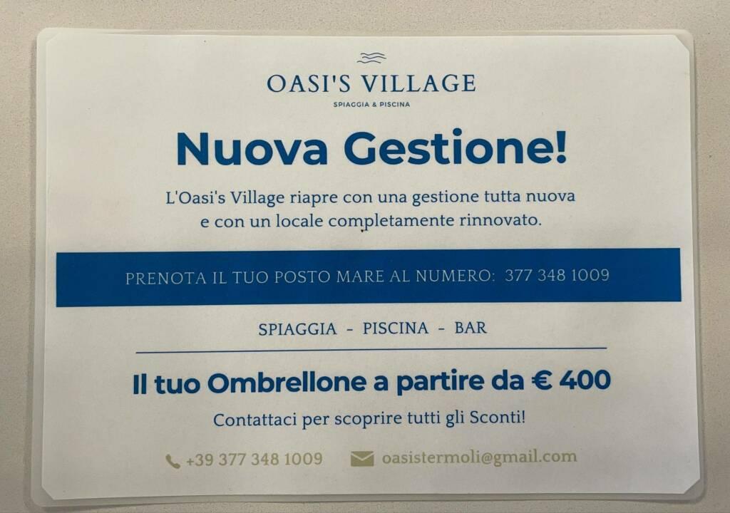 Lido oasi village nuova gestione