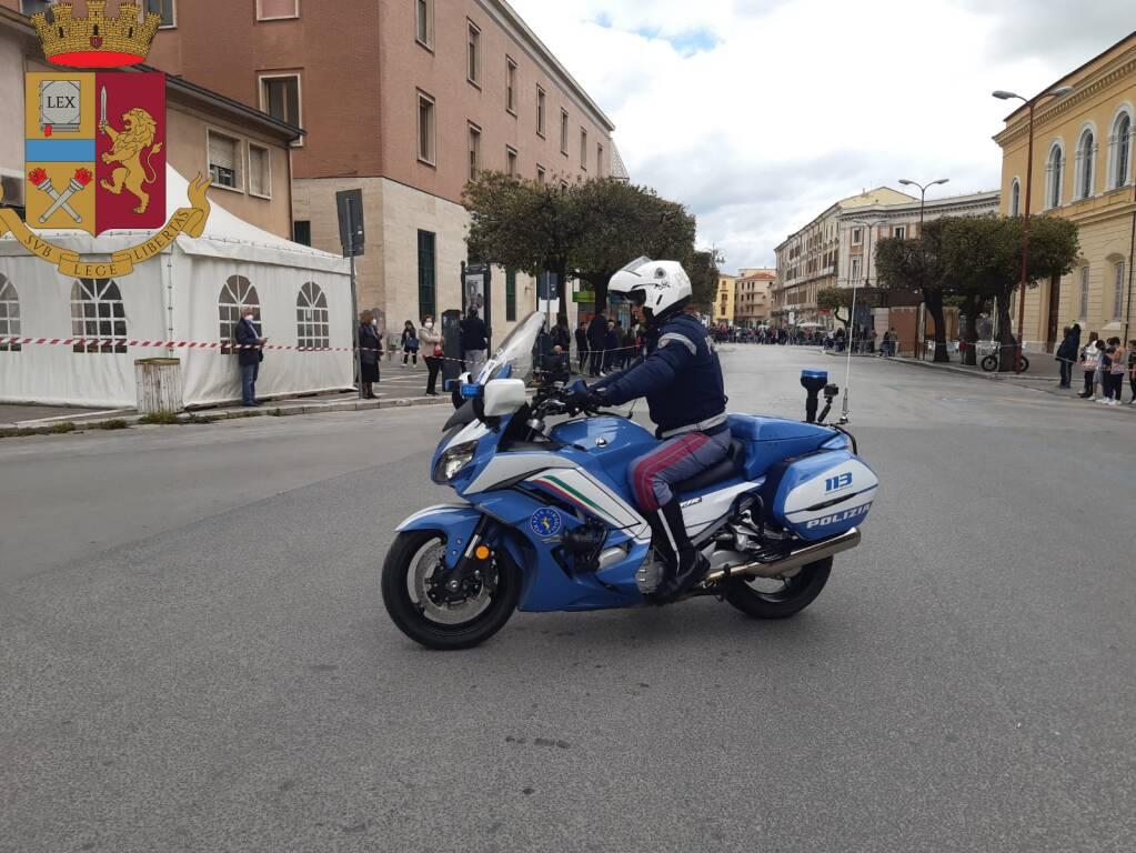 polizia stradale giro d'italia campobasso