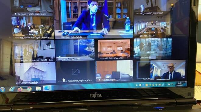 toma videoconferenza ministri