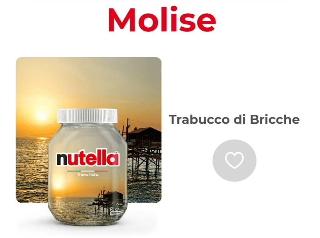 Trabucco bricche celestino  Nutella