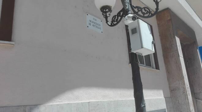 Via Roma Campobasso telecamere